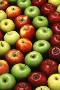 Las manzanas, aliadas de una sonrisa blanca