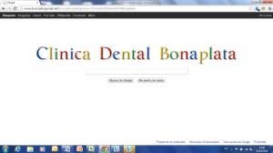 BuscadorGoogleClinicaDentalBonaplata