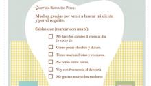 Carta para el ratoncito Pérez